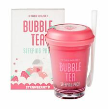 ETUDE HOUSE Bubble Tea Sleeping Pack 100g - Strawberry Tea