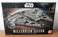 Bandai Star Wars The Force Awakens MILLENNIUM FALCON Plastic Model Kit 1/144