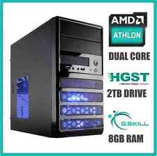 NEW Gaming Computer Desktop PC 4.0 GHz Turbo 2TB Hard Drive 8GB RAM---Windows 10