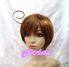 Cosplay Axis Powers Hetalia APH South Italy Lovino Vargas wigs + wig free cap