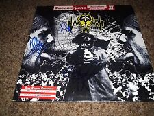 """QUEENSRYCHE SIGNED RECORD """"OPERATION MINDCRIME II """" RARE! 4 MEMBERS  L@@K PROOF"""