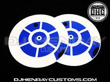 R2 Dj Slipmats (pair) sl1200mk2 mk5 m3d m5g Technics or any turntable