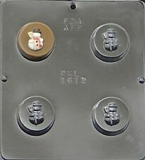 Snowman Chocolate Oreo Cookie Mold 1612 NEW