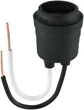Cooper Wiring Devices 145-BOX Rubber Pigtail Lamp Holder, Medium Base *