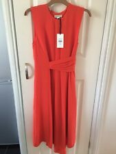 Whistles Dress Marisa Orange Colour  Size 6 New With Tags Paid £150 Lovely On