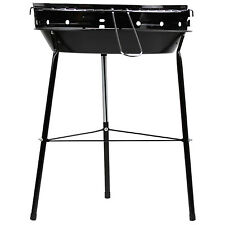 Bbq Collection Metal Picnic Outdoor Camping Garden Charcoal Barbecue Grill Black