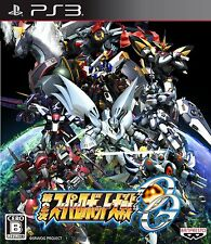 USED PS3 Super Robot Wars OG 2nd  Taisen Japan Import