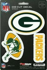 New NFL Green Bay Packers Team ProMark Die-Cut Decal Stickers 3-Pack