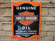 Harley-Davidson Motor Oil Harley Cycles Metal Street Garage Man Cave Motorcycle