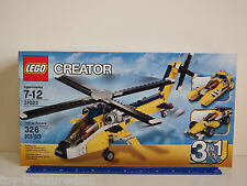 "LEGO CREATOR 31023 ""3 in 1"" Yellow Racers - 328 piece set - Ages 7 - 12 years"