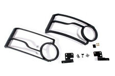 LAND ROVER LR4 / DISCOVERY 4 FRONT LIGHT GUARD SET ON SALE (ONE CLIP IS BROKEN)