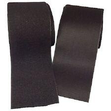 150mm Wide Hook Loop Tape Black Self Adhesive Craft DIY Velcro Fabric Pedalboard