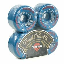 Powell Peralta G Bones #2 97A Pro Skateboard Wheels Blue 64mm Set Of 4 New