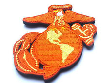 USA MARINES AUTHENTIC EAGLE GLOBE SEAL LOGO   PATCH   SK   523