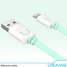 USAMS - Cable USB Fast Charging / Sinc. Iphone / Ipad / Ipad Mini - Blue 2.1A