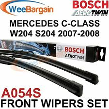 MERCEDES C-Class 204 NEW Genuine BOSCH A054S Aerotwin Front Wiper Blades Set