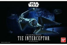 Star Wars Plastic Model Kit 1/72 TIE INTERCEPTOR Bandai Japan NEW **
