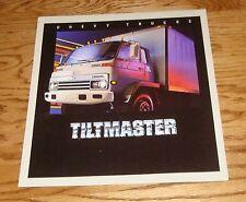 Original 1984 Chevrolet Truck Tiltmaster Sales Brochure 84 Chevy