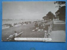 POSTCARD ISLE OF WIGHT COWES THE GREEN 1923