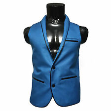 Designer Jacket, Mens Party Wear Jacket,Stylish Neck (Size-Medium- Chest-38 )