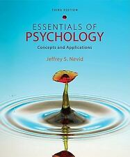 Essentials of Psychology : Concepts and Applications by Jeffrey S. Nevid (2011,