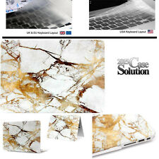 New Bundle Rubberized Hardshell Case with Clear Keyboard Cover for Apple MacBook