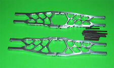 Aluminum Heavy Duty Front and Rear A Arms for Traxxas Slash Stampede 4x4 -Silv!!