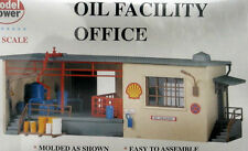 HO SCALE TRAINS OIL FACILITY OFFICE BUILDING KIT