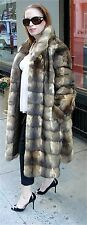***SABLE FUR COLLAGE***RUSSIAN SABLE FUR SWING COAT STROLLER 10-14 BRAND NEW