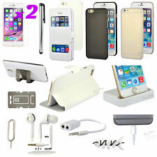 13 in 1 Accessory Bundle Pack White Case Cover Charger For iPhone 6 Plus 5.5""