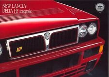 Lancia Delta HF integrale Evo UK market 1992 colour sales brochure