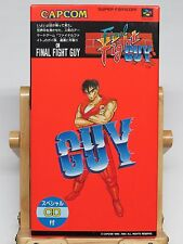 Final Fight Guy + Special CD Mini Music CD for Super Famicom * BRAND NEW ? *