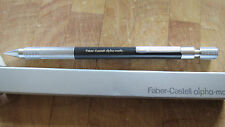 Faber Castell Alpha Matic  Druckbleistift  Mechanical pencil NEU OVP ANTHRAZIT