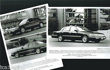 1992 Mercury GRAND MARQUIS Press Kit Photo,Specifications for?Brochure, '92