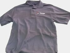 MENS SHORT SLEEVE POLO SPORTS SHIRT  PORT AUTHORITY SCRIPPS MED GRAY # 100
