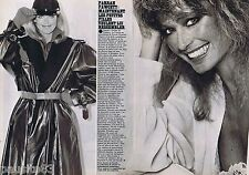 COUPURE DE PRESSE CLIPPING 1978 Farrah Fawcett (2 pages)