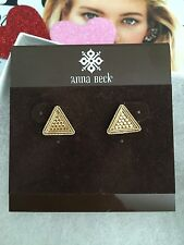 "Anna Beck Earrings ""Gili""  Sterling Silver 925 100% Authentic!! Stud NEW$110"