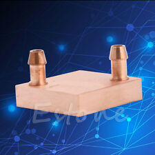 Heat Sink Cooled Copper Water Cooling Block For CPU GPU Radiator Liquid Heatsink