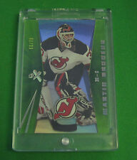 2008 Martin Brodeur  Ex Essential Credentials Green 60/70