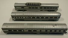 Lot of Three Con Cor HO scale passenger cars, parts only Electric Model Train