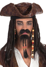 Piraten Bart Set 2-teilig NEU - Karneval Fasching Bart Verkleidung