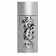 Floral Ornamental High Quality Fridge Kitchen Decal / Wall Stickers 30cm x 80cm