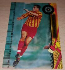 CARD CALCIATORI PANINI 2001 LECCE LUCARELLI CALCIO FOOTBALL SOCCER ALBUM