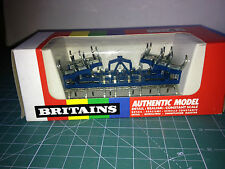 BRITAINS 1/32  FOLD-UP CULTIVATOR (9550 AZUL) VER FOTO