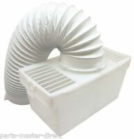 TUMBLE DRYER CONDENSER VENT KIT BOX WITH VENT HOSE FOR ALL MODELS