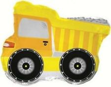 Construction, Trucks & Diggers Party Yellow Dumper Truck Supershape Balloon