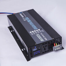 5000W Off Grid Pure Sine Wave Solar Power Inverter 12V/24V/48V to 220V/240V 50HZ