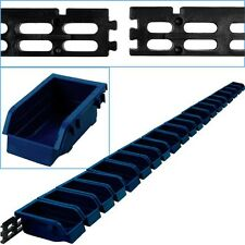 Wall Mounted Parts Rack - 20 Bins Stackable Nuts Bolts