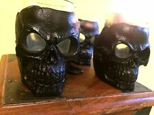 SKULL SHOT GLASS SET [Set of 4] NIB ~ Detailed & Heavy ~ Free Shipping