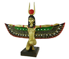 Winged Isis Egyptian Goddess Statue Deity Mythology
